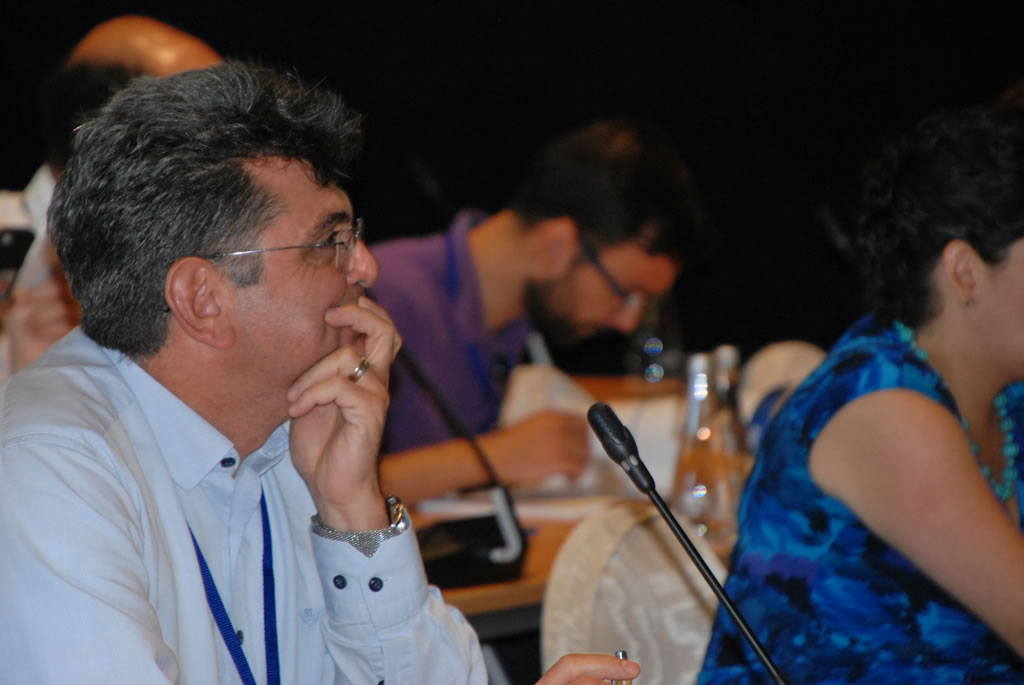 EASO Partnerships, images shows delegates attending a conference