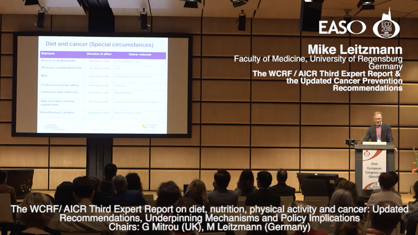 Third Expert Report on diet, nutrition, physical activity