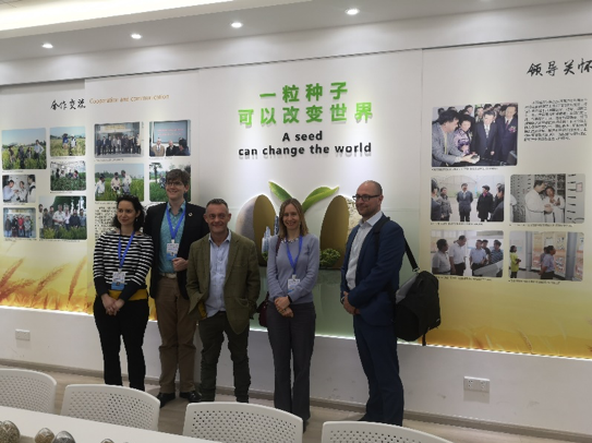 N8 AgriFood delegates on a tour of Jiangsu Academy of Agricultural Sciences (JAAS) facilities