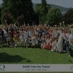 EASO Train the Trainer 2019 Annecy, Francy, Group Photo of showing attendees together on a lawn