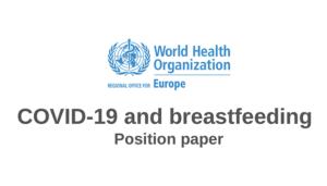 Breastfeeding and COVID-19