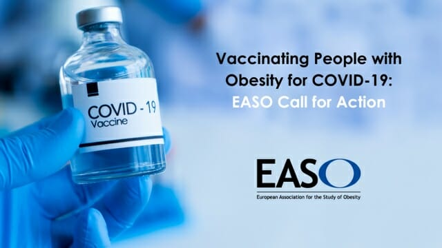 Vaccinating People with Obesity for COVID-19: EASO Position Statement and Call for Action