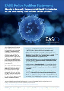 EASO Policy Position Statement Infographic