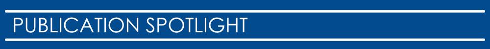 Publication Spotlight
